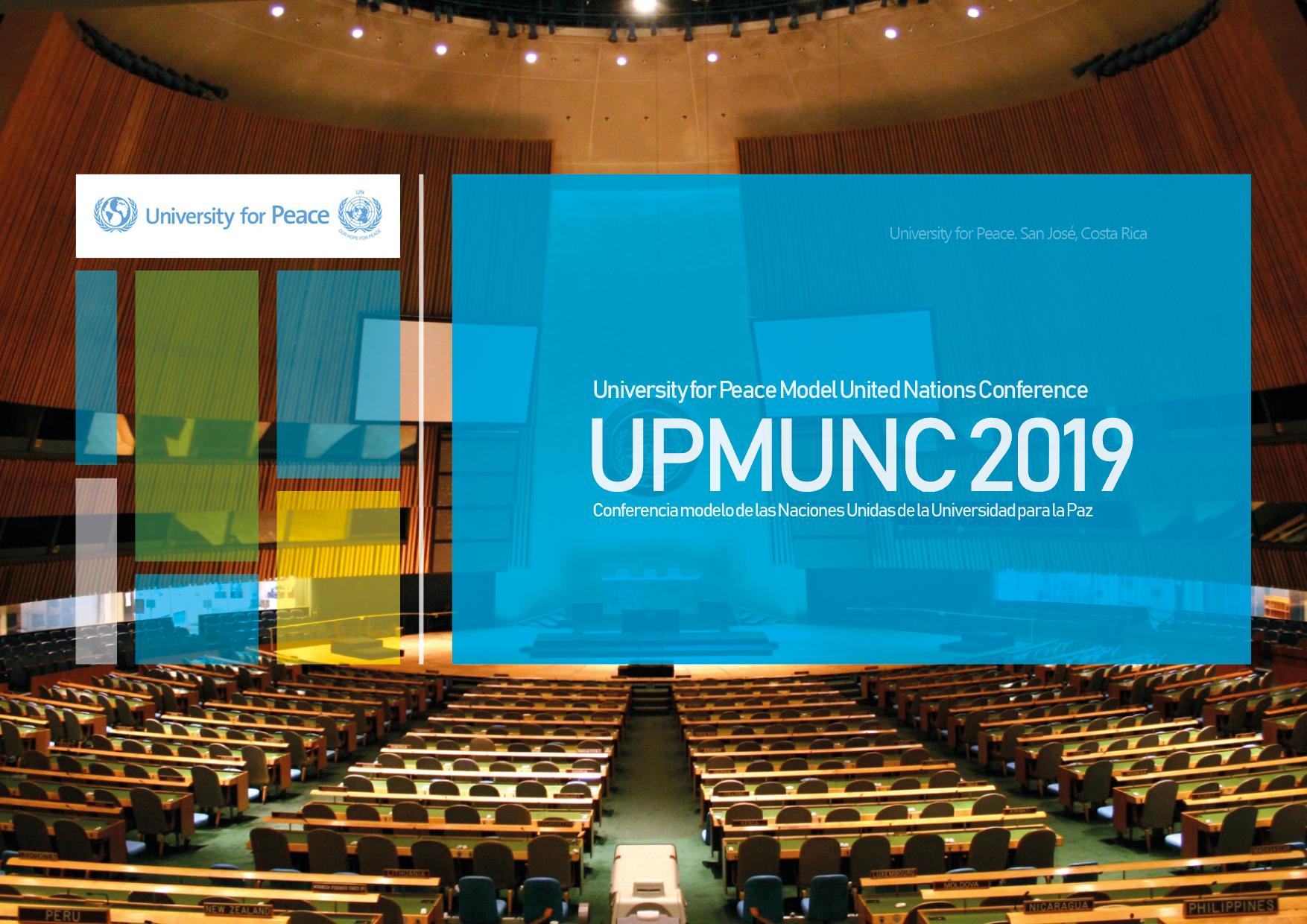 UPMUNC 2019 Poster