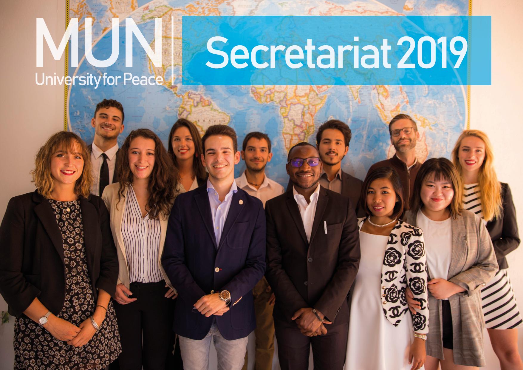 UPMUNC Secretariat 2019